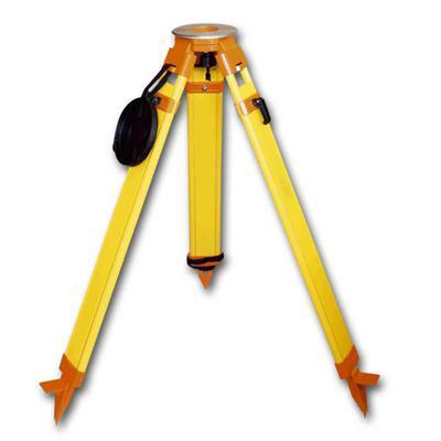 survey tripod yellow
